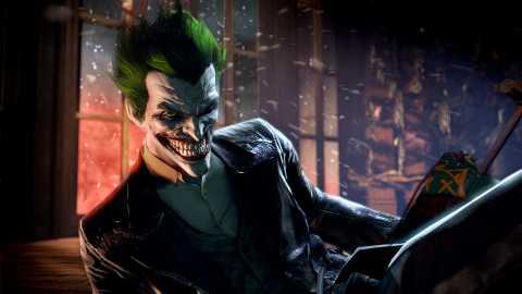 Joker as he appeared in Batman: Arkham Origins