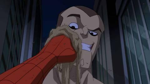 Sandman in Spectacular Spider-Man