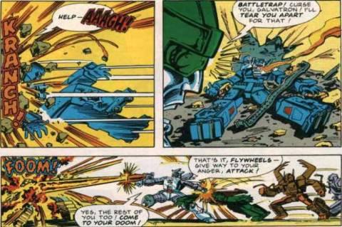 Battletrap and Venom didn't last long...