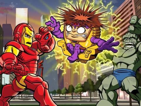 Iron Man gives MODOK a shock