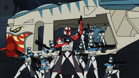 (Arc Troopers with a LAAT)