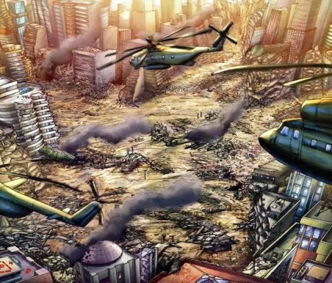 Destruction of Star City