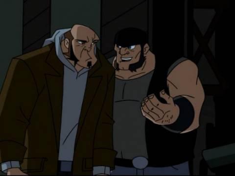 Rhino and Mugsy in The Batman