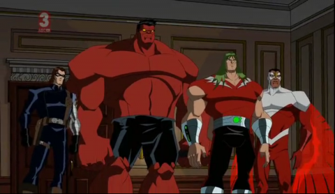 Doc Samson as part of Code Red