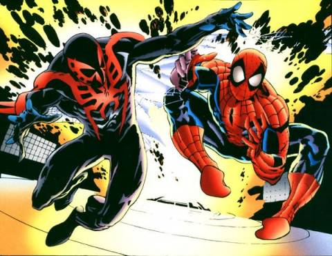 Spider-man 2099 & Spider-man classic