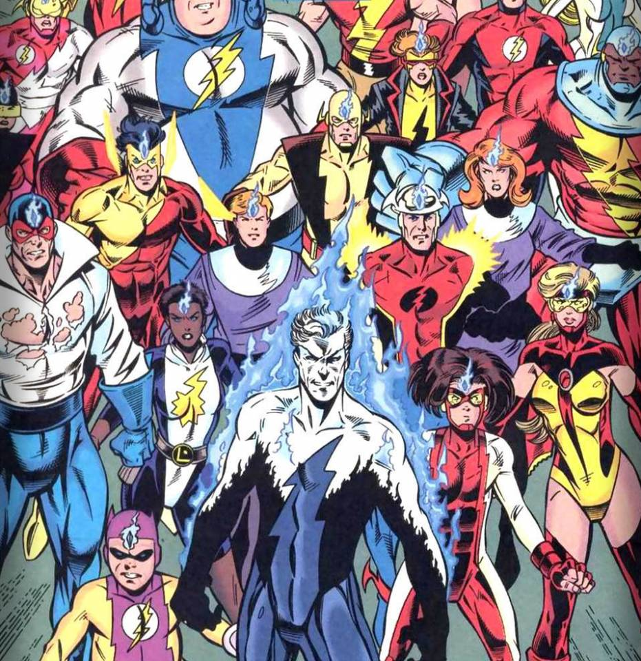 The speedsters under Cobalt Blue's control