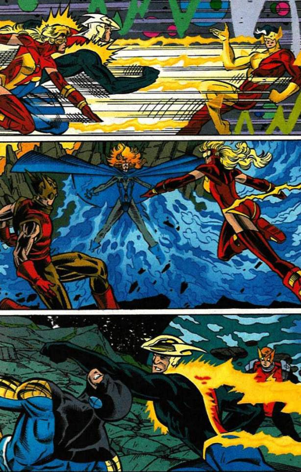 Speedsters teaming up through time