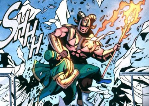 Amazing-Man vs. Magog
