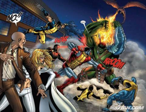 Hulk vs. the X-Men
