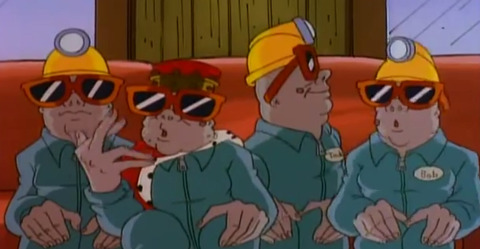 The Mole Men from the Tick