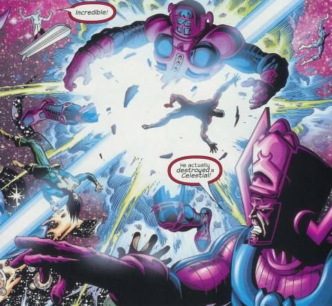 Ziran destroyed by Thanos.