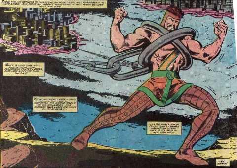 Hercules - towing Manhattan Island.