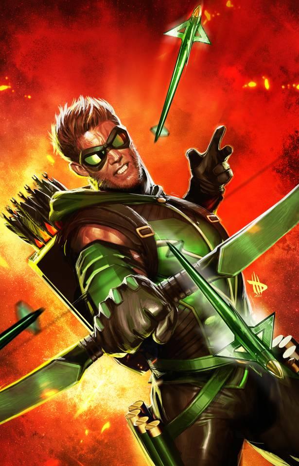 Green Arrow #1 - Dave Wilkins