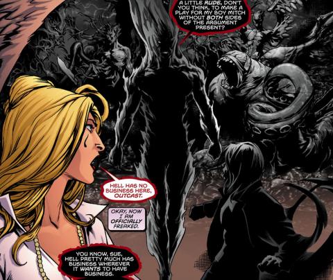 Suriel, Outcast, and Resurrection Man