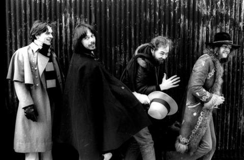 The Studio mates circa 1979: Bernie Wrightson, Jeffrey Jones, Michael Kaluta, Barry Windsor-Smith.