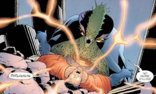 That's no White Martian, Ultraman.--Art by Frank Quitely.