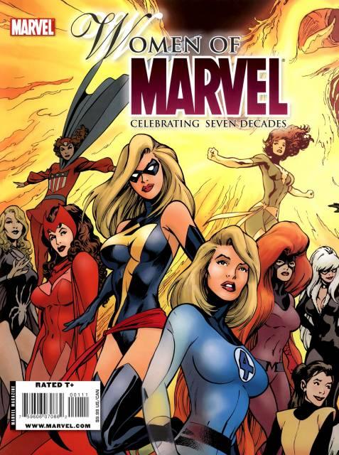 Women of Marvel: Celebrating Seven Decades Magazine