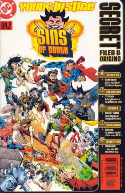 Sins of Youth: Secret Files and Origins