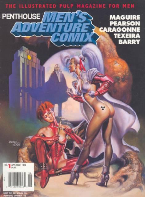 Penthouse Men's Adventure Comix