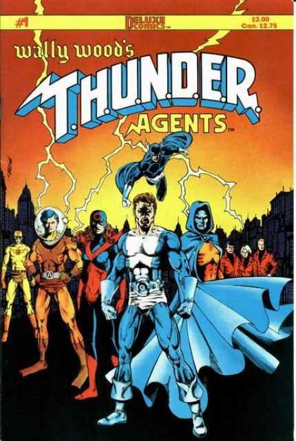 Wally Wood's T.H.U.N.D.E.R. Agents