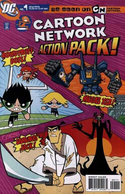 Cartoon Network Action Pack