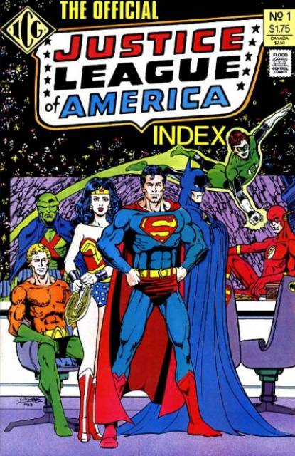 The Official Justice League of America Index