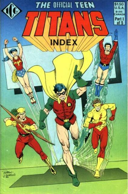 The Official Teen Titans Index