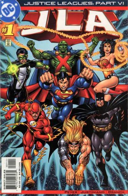 Justice Leagues: JLA