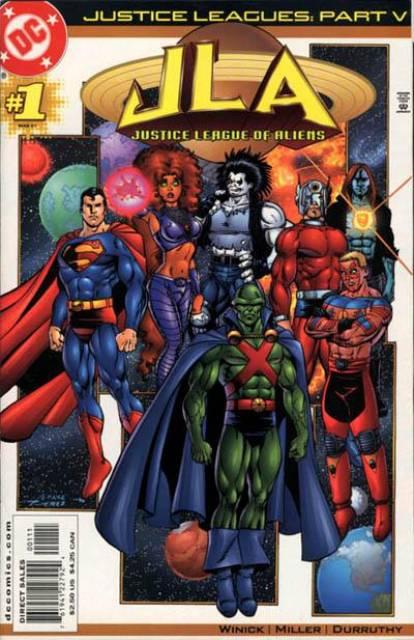 Justice Leagues: Justice League of Aliens