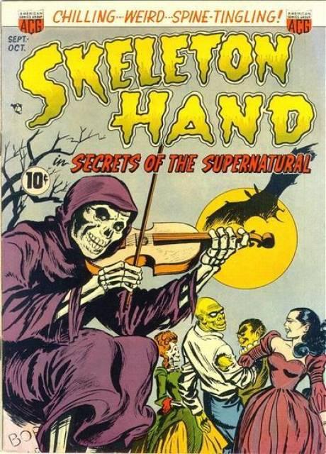 Skeleton Hand in Secrets of the Supernatural