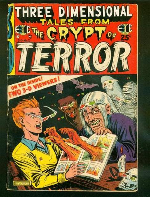 Three Dimensional Tales from the Crypt of Terror