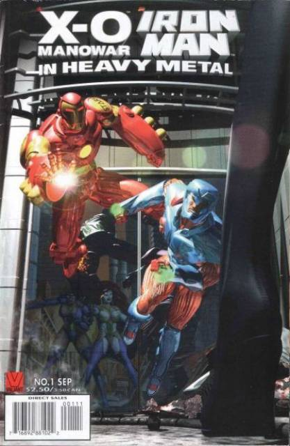 X-O Manowar/Iron Man: In Heavy Metal