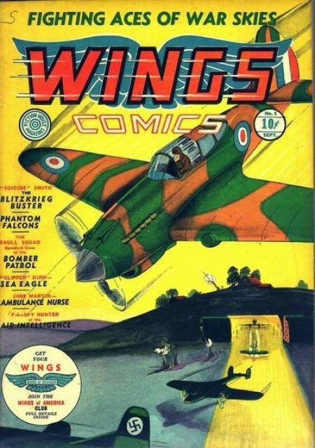 Wings Comics