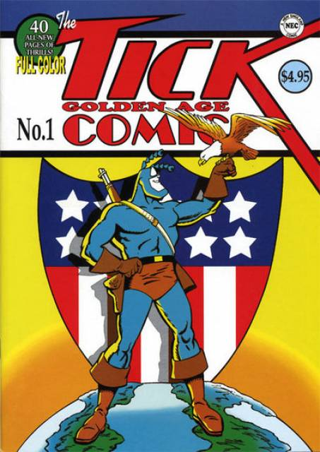 Tick's Golden Age Comic