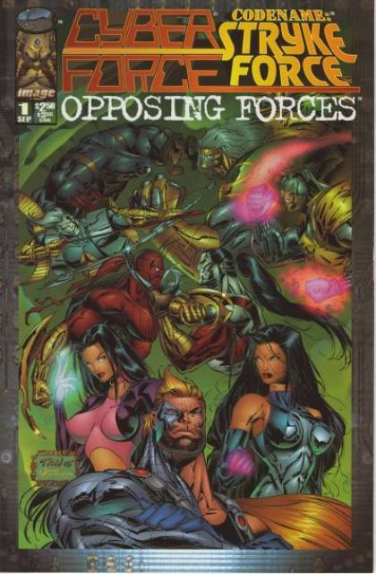 Cyber Force / Strykeforce - Opposing Forces