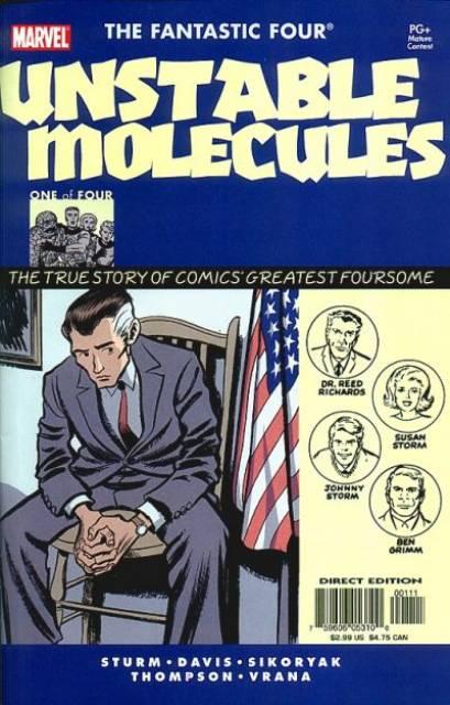 Startling Stories: Fantastic Four - Unstable Molecules