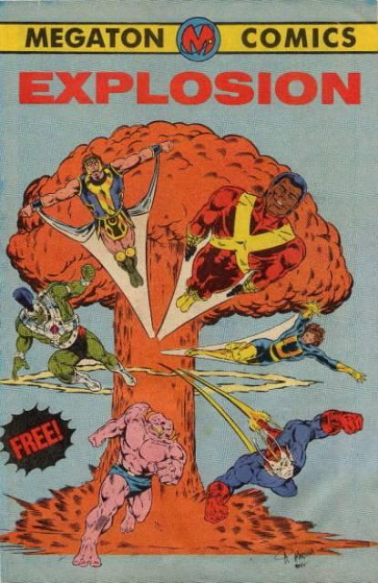 Megaton Comics: Explosion