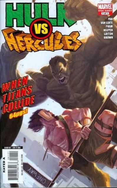 Hulk Vs Hercules: When Titans Collide