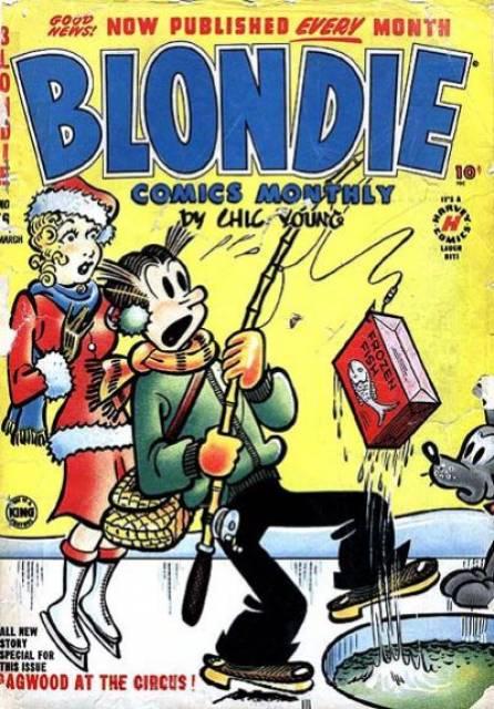 Blondie Comics Monthly