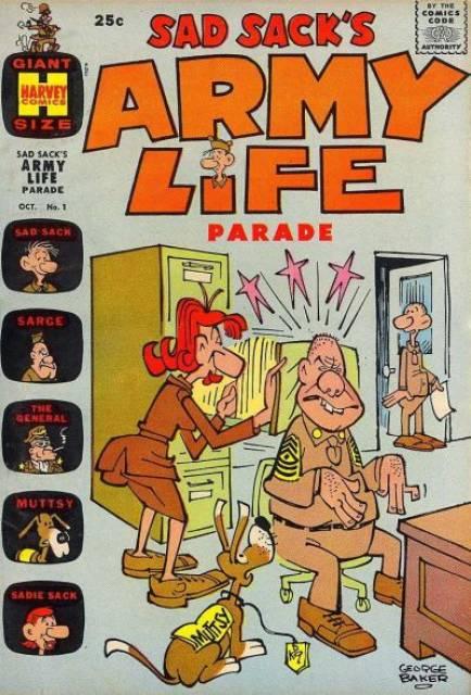 Sad Sack's Army Life Parade
