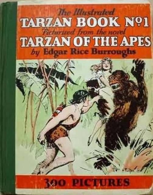 Illustrated Tarzan Book