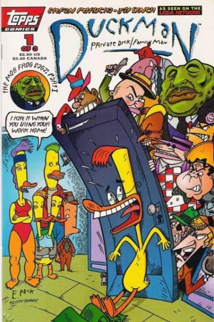 Duckman : The Mob Frog Saga