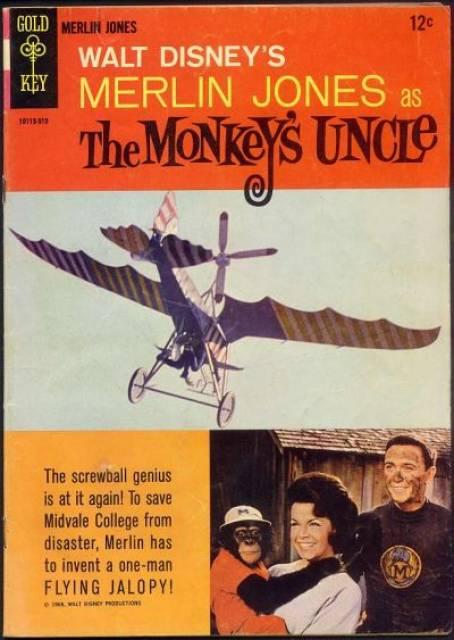 Walt Disney's Merlin Jones as The Monkey's Uncle