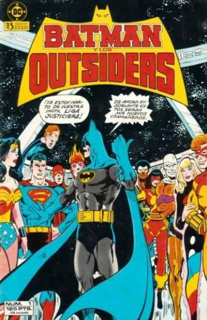 Batman y los Outsiders