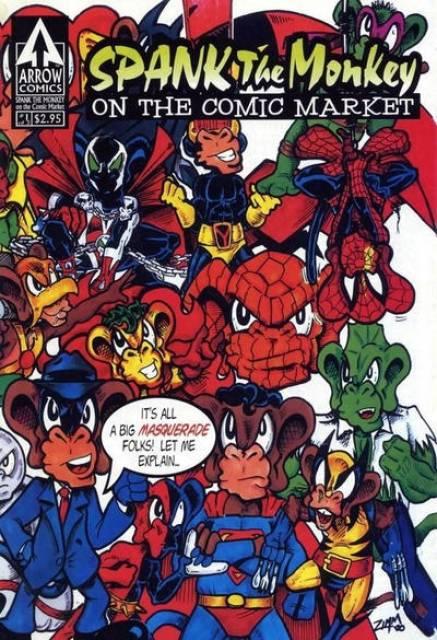 Spank the Monkey on the Comics Market