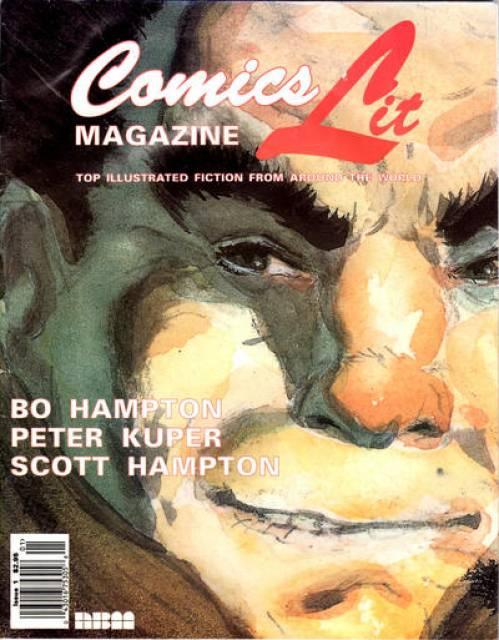 ComicsLit Magazine