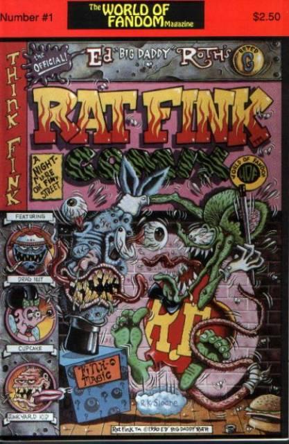 Rat Fink Comics
