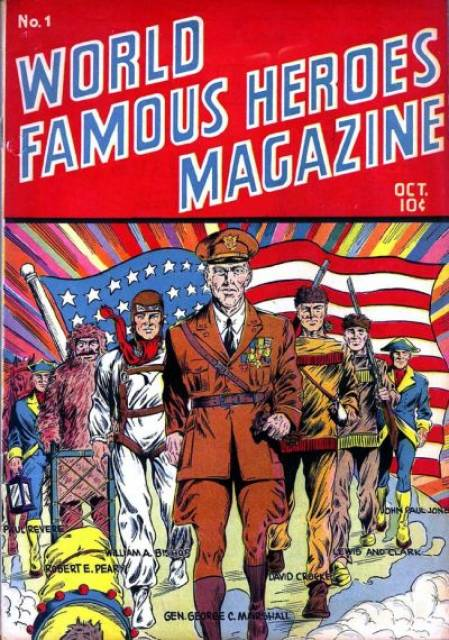 World Famous Heroes Magazine