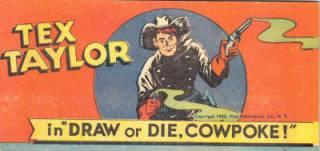 """Tex Taylor in """"Draw or Die, Cowpoke!"""""""