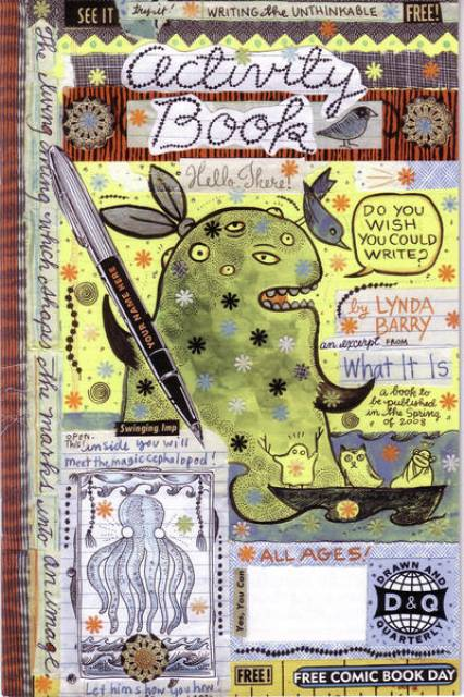 Lynda Barry Free Comic Book Day Activity Book Special
